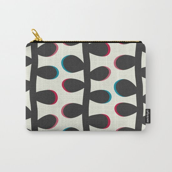 Like a Leaf [black] Carry-All Pouch