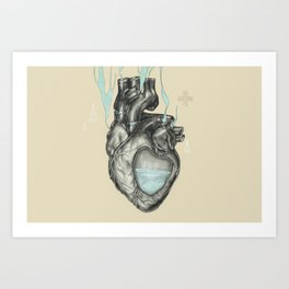 Recovery Art Print