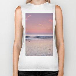 Cadiz. Barrosa Beach At Sunset. Biker Tank