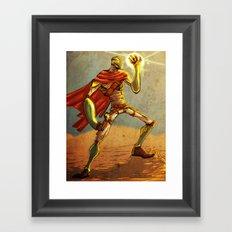 The Desert Man Framed Art Print