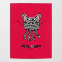 Jelly Meow Poster