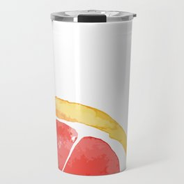 Red Citrus Travel Mug