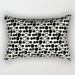 Black Tie Collection Small Geo Rectangular Pillow