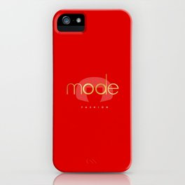 Bold RED iPhone Case