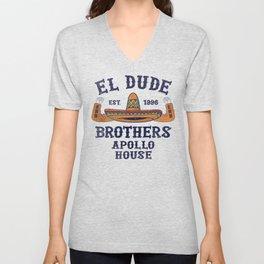 The Peep Show - El Dude Brothers Unisex V-Neck