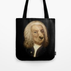 Bach, your best friend!  Tote Bag