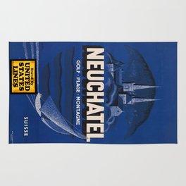 Vintage poster - Neuchatel Rug