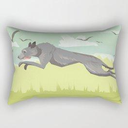 Scottish Deerhound Rectangular Pillow