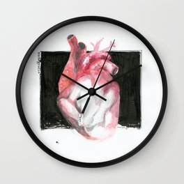 NUDEGRAFIA - 58 Heart II Wall Clock