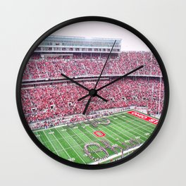 GO BUCKS!  Wall Clock