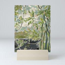 Botanical garden Mini Art Print