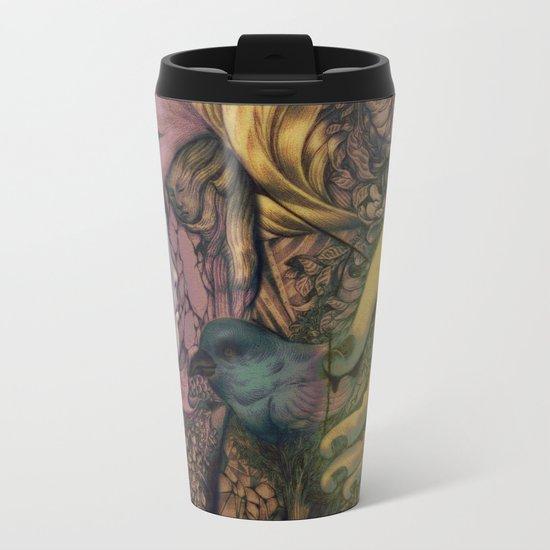 Handle Metal Travel Mug