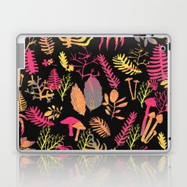 tropical and mushrooms texture pattern Laptop & iPad Skin
