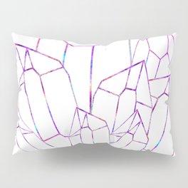 Quartz Geode Cluster Pillow Sham