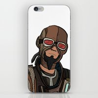 borderlands iPhone & iPod Skins featuring borderlands mordecai by  Steve Wade ( Swade)