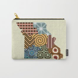 Missouri State Map Carry-All Pouch