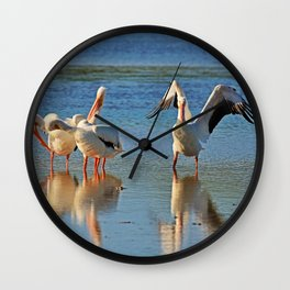 The Dramatic Magistrate Wall Clock