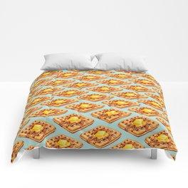 Waffle Pattern Comforters