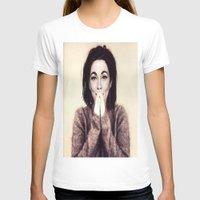 bjork T-shirts featuring Mommie Bjork by Wanker & Wanker