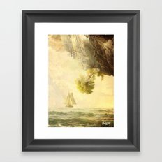 To Misty Mountains Framed Art Print