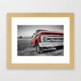 Truck Series 1 Framed Art Print
