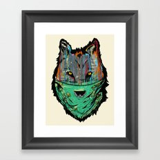 Wolf Mother - Screen Print Edition  Framed Art Print