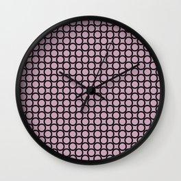 Abstract Circles Wall Clock