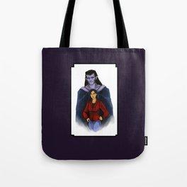 Goliath and Elisa Tote Bag