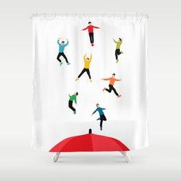 It's Raining Men Shower Curtain