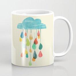 cloudy with a chance of rainbow Coffee Mug
