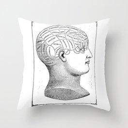 Phrenology2 Throw Pillow
