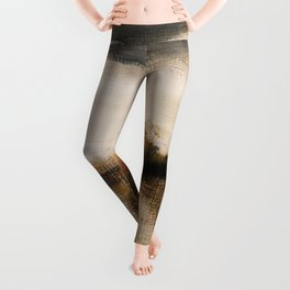 Steppe landscape Leggings