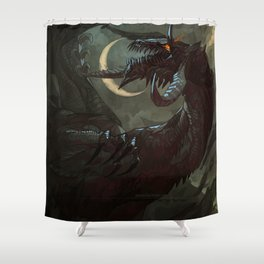 Never Forget. Never Forgive. Shower Curtain
