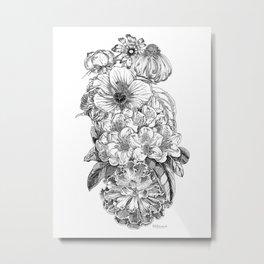 More&more flower Metal Print