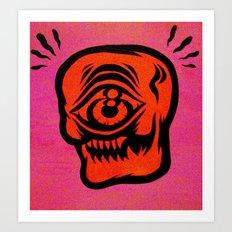 cyskull Art Print