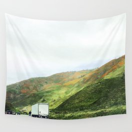 California mountains Wall Tapestry