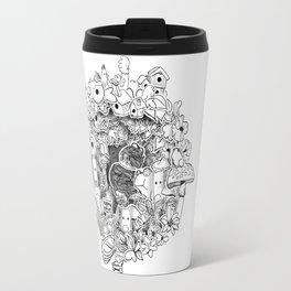 The princess and the Frog (3D papercut) Travel Mug