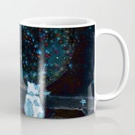 BLUE CHRISTMAS STARGAZERS ~ BACK WHERE MY HEART IS LONGING TO BE Coffee Mug