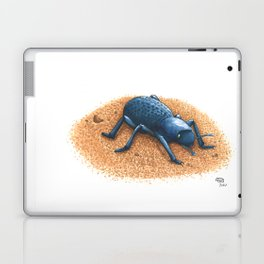 Blue Death Feigning Beetle Laptop & iPad Skin