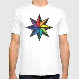 Geometric star #2 - to wear T-shirt