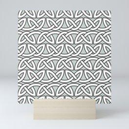 Viking Pattern | Warrior Valknut Norse Mythology Mini Art Print