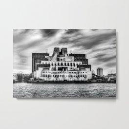 Secret Service Building London Metal Print