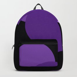 Mod Circles Purple Backpack
