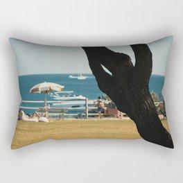 Stop And Breathe Rectangular Pillow