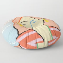HEAD IN THE CLOUDS Floor Pillow