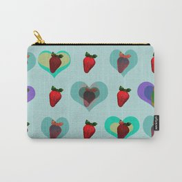 FUNNY STRAWBERRY PATTERN 02 Carry-All Pouch