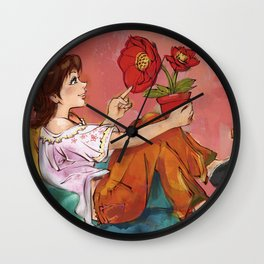 friend Wall Clock
