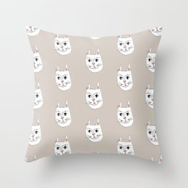 Cats for Days Throw Pillow