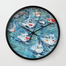 In the Harbor Wall Clock