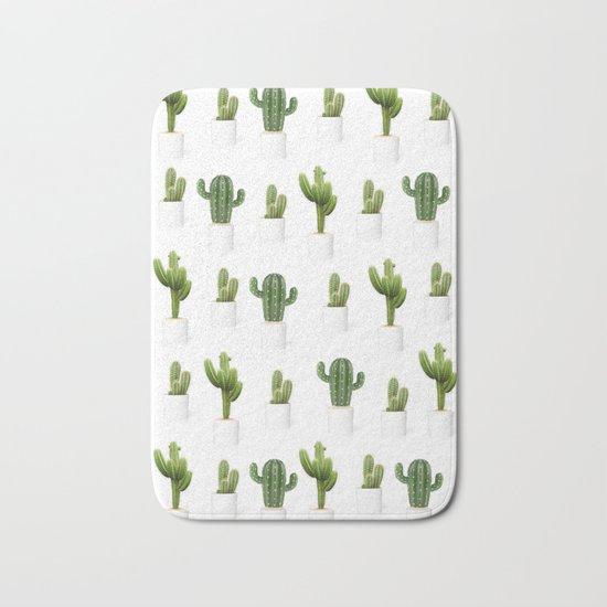 Cactus party Bath Mat